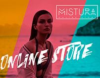 MISTURA Corporate identity, web design