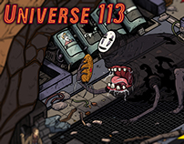 Universe: 113 Character Poster