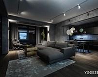 Modern home interior by YoDezeen