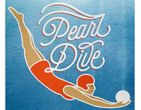 Pearl Dive Poster – Fun with Layer Blending Modes!