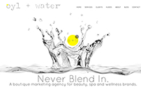 Website Design: Oyl + Water