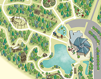 Conkers Discovery Centre Visitor Map