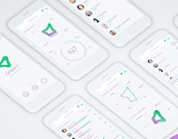 GreenY - Manage your business -Dashboard design
