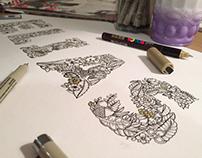 Lettering Illustration