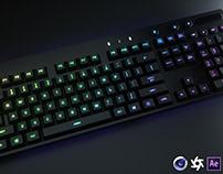 Logitech Keyboard 3D Model and Renders