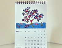 Calendar 2015: Indian Folk Paintings