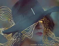 Design for Strangerfamiliar's EP Fire Under Water