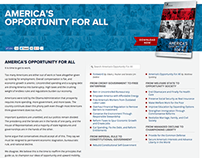 America's Opportunity For All Website