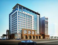 Part of Adagio Hotel, Jeddah BIM Model