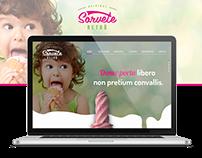 Website - Sorvete Retrô