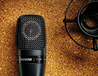 New Shure PGA packaging.