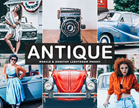 Free Antique Mobile & Desktop Lightroom Preset