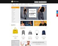 Shopify theme & Magento theme for Fashion Mall
