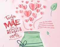 Dia das Mães/ Endomarketing