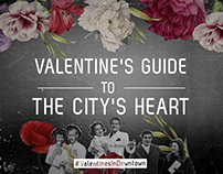 DOWNTOWN Valentine's Campaign