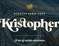 Kristopher • Typeface