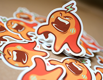 Electro Jelly Stickers!