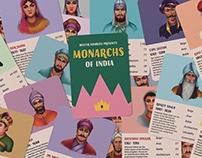 Monarchs of India — Trump Card Game Design