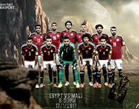 EGYPT VS MALI Match Card