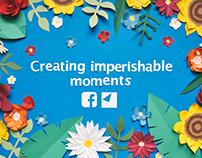 D&AD Arjowiggins—Facebook Flowers