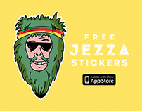 Jezza - Stickers for iMessage. Free on the AppStore