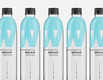 Water Bottle Pet - Mockup - 500ml