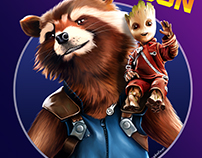 GOTG Rocket and Baby Groot
