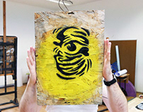 Abstract stencil