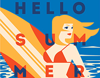 10 Summer Time Posters