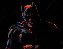 Batman in Rain