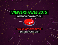 MTV South Africa - Viewers Faves