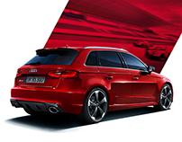Audi RS3 Campaign 2015 Print