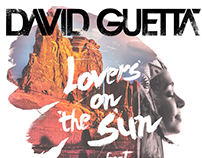 Releitura CD Lover on the Sun do DJ David Guetta