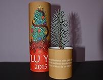 """""""ROLL HOUSE"""" Creative Christmas Card Design"""