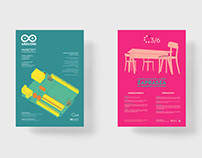 plakaty wektorowe