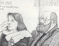 Berlin U-Bahn Sketchbook