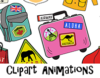 Animation promos for The Print Shop 4