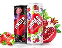 Разработка логотипа и дизайна упаковки для напитка.