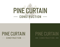 Pine Curtain Construction Branding