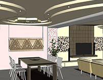 Mr Ahmed Hendi Villa Interior design