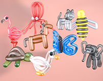 3D Balloon Animals