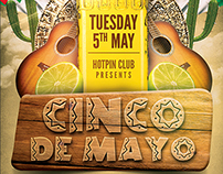 Cinco De Mayo Party Flyer Template 2