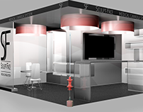 Scénographie Stand AMEC 2016