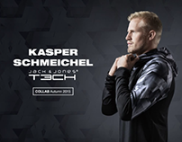 Kasper Schmeichel x TECH by Jack & Jones, 2015
