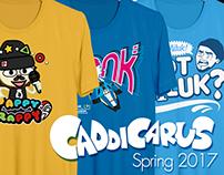 Caddicarus T-Shirts Spring 2017