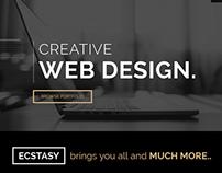 Ecstasy - Multipurpose Joomla Template