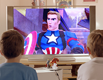 Tesco Marvel TV Commercial