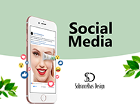 Social Media Sobrancelhas Design