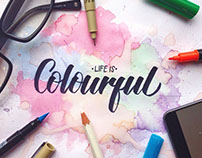 Instagram Lettering Collection 2016