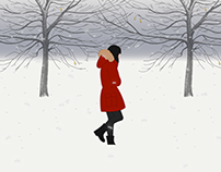 Snow Walk Animation Demo